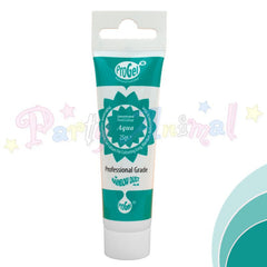 Rainbow Dust Edible Food Colour Pro Gel - AQUA
