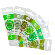 Rainbow Dust ProGel Paste - 6 Shades of Green - Set Two