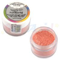 pearl blush pink. edible. rainbow dust. image. partyanimalonline. cake decorating