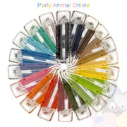 Rainbow Dust Edible Ink Food Art Pens - Full Set of 19