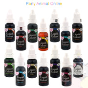 Rainbow Dust Liquid Colour Range - Full Set of 14