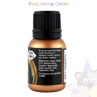 Rainbow Dust Edible Food Paint - METALLIC DARK GOLD