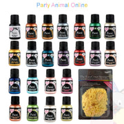 Rainbow Dust Edible Food Paint - Complete Set of 22 with free Sponge!