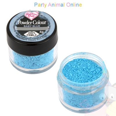 Rainbow Dust Powder Colour Range - BABY BLUE