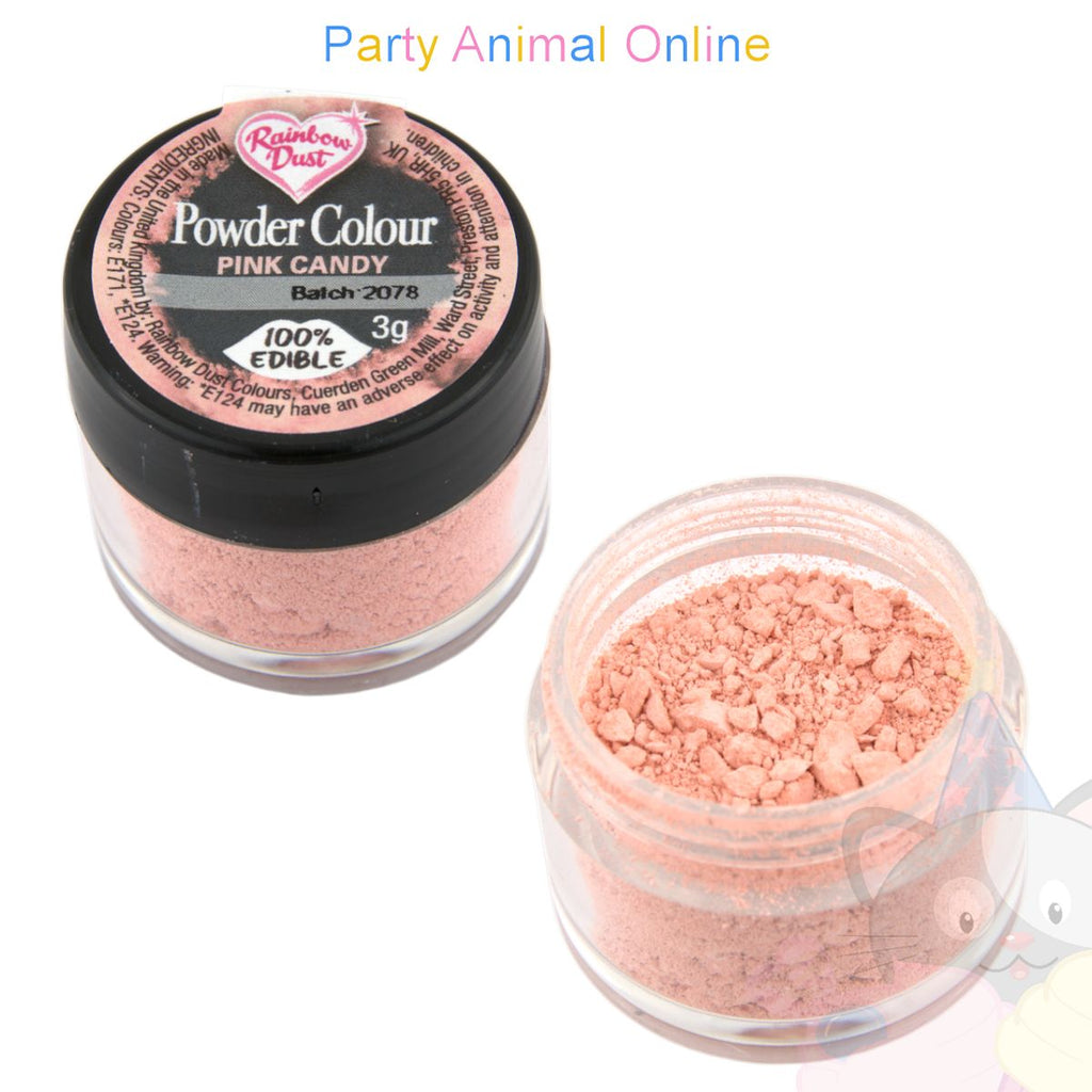 Rainbow Dust Powder Colour Range - PINK CANDY