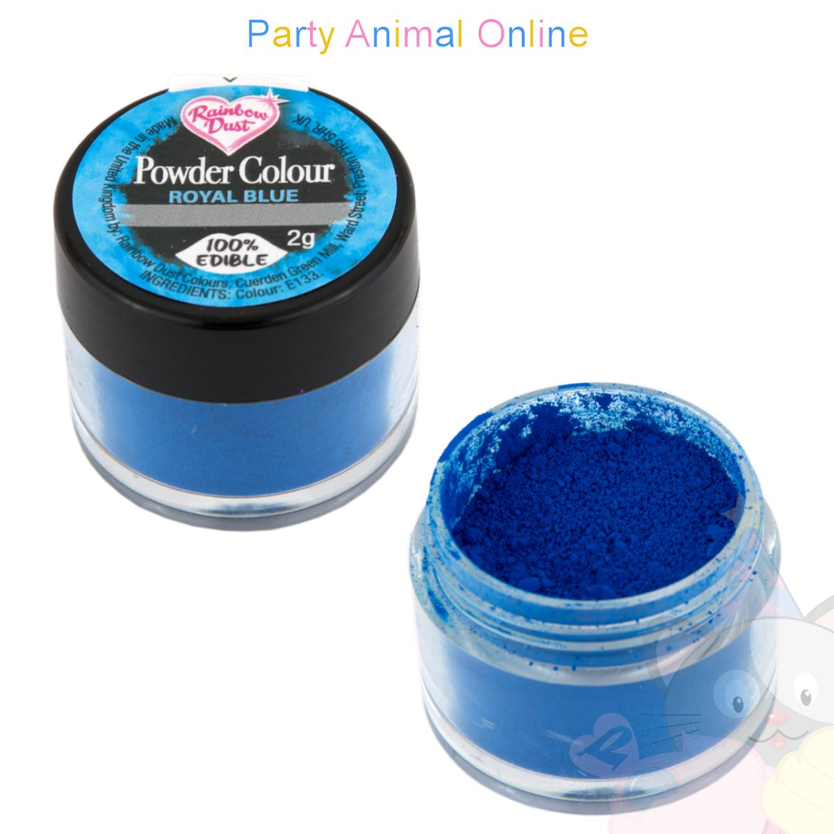 Rainbow Dust Plain and Simple Range - ROYAL BLUE