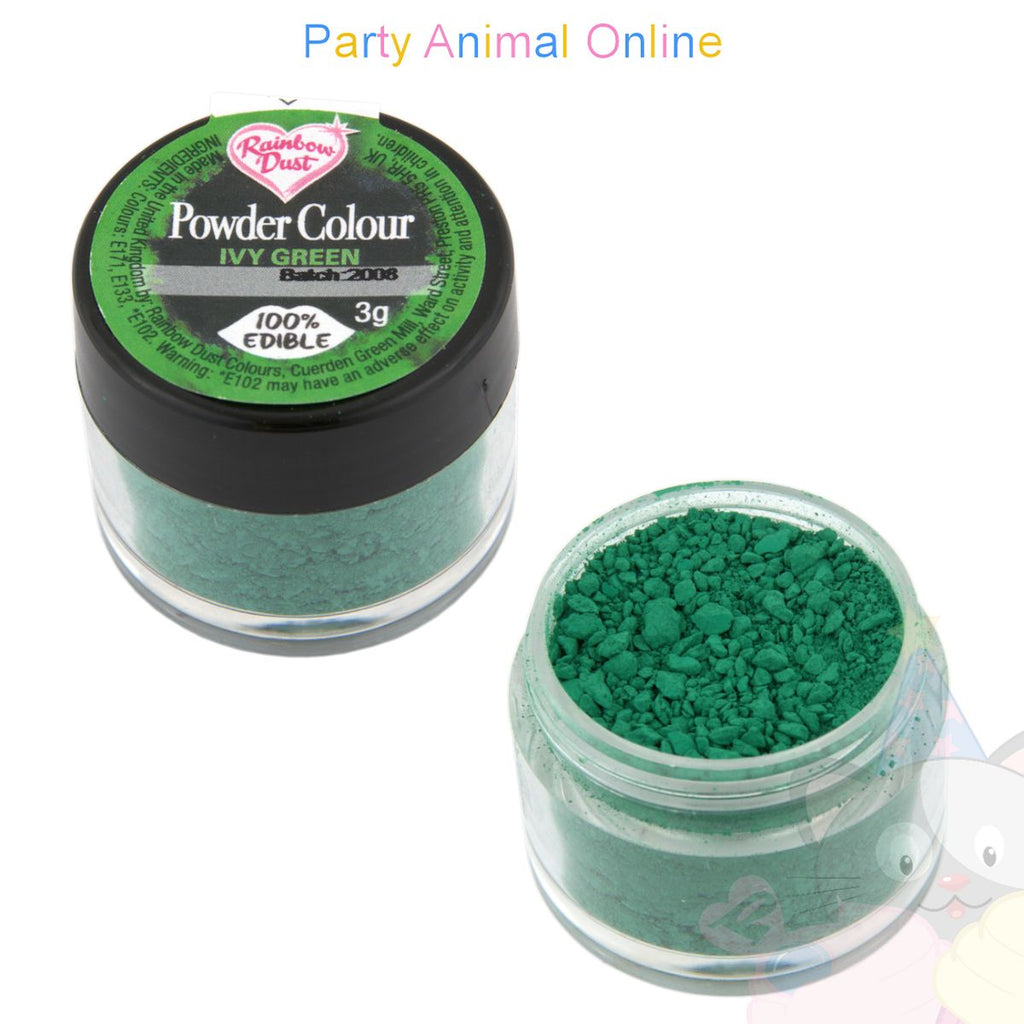 Rainbow Dust Powder Colour Range - IVY GREEN