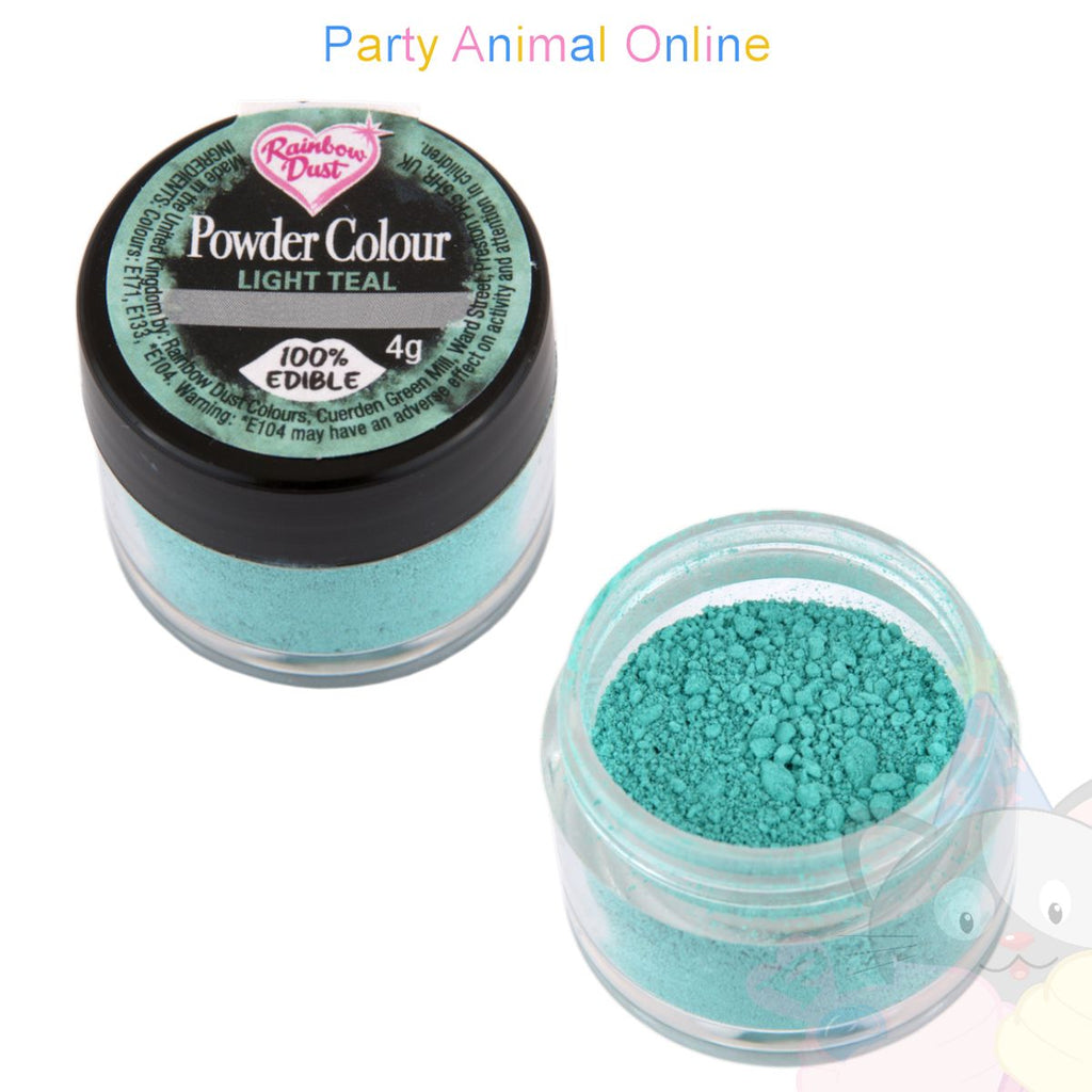 Rainbow Dust Plain and Simple Range - LIGHT TEAL