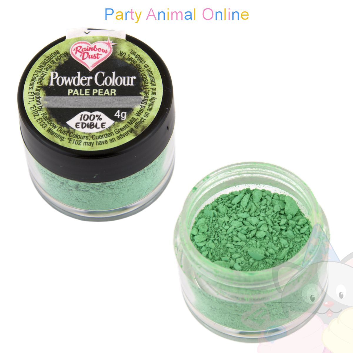 Rainbow Dust Powder Colour Range - PALE PEAR