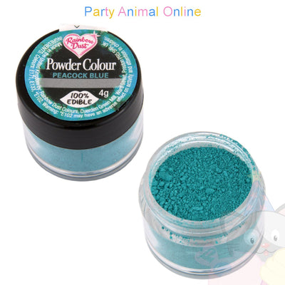 Rainbow Dust Powder Colour Range - PEACOCK BLUE
