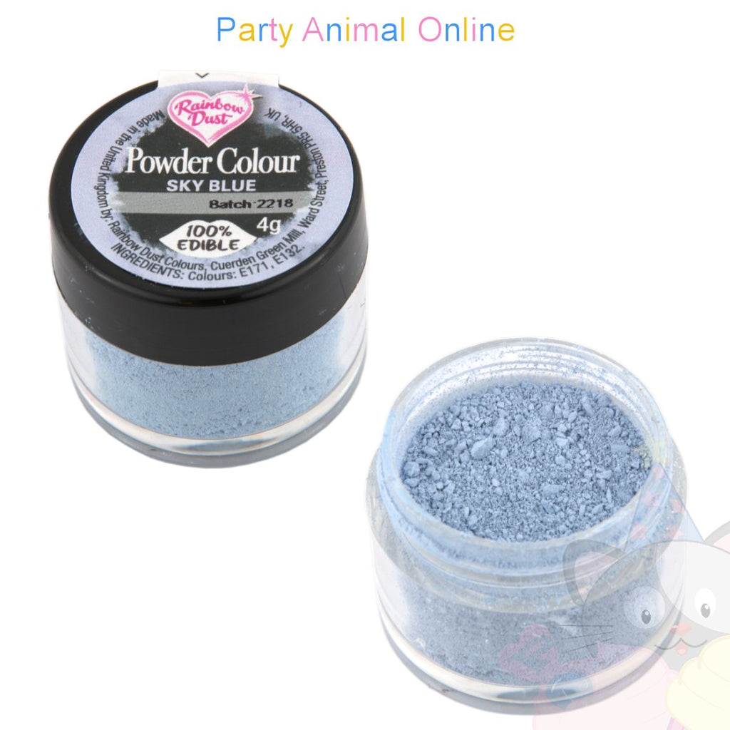 Rainbow Dust Powder Colour Range - SKY BLUE