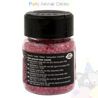 Sparkling Sugar Crystals From Rainbow Dust - Pearlescent Rose