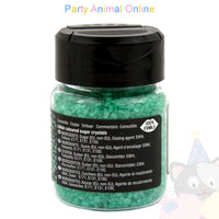 Sparkling Sugar Crystals From Rainbow Dust - Pearlescent Turquoise