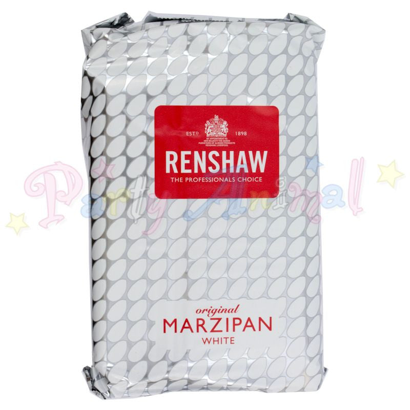 Renshaw Marzipan / White Almond Paste - 1Kilo