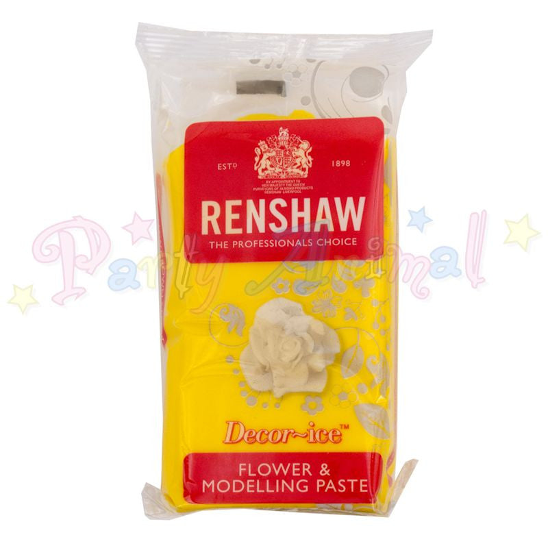 Renshaw Flower & Modelling Paste - Daffodil Yellow 250g