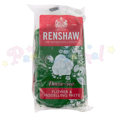 Renshaw Flower & Modelling Paste - Dark Leaf Green 250g