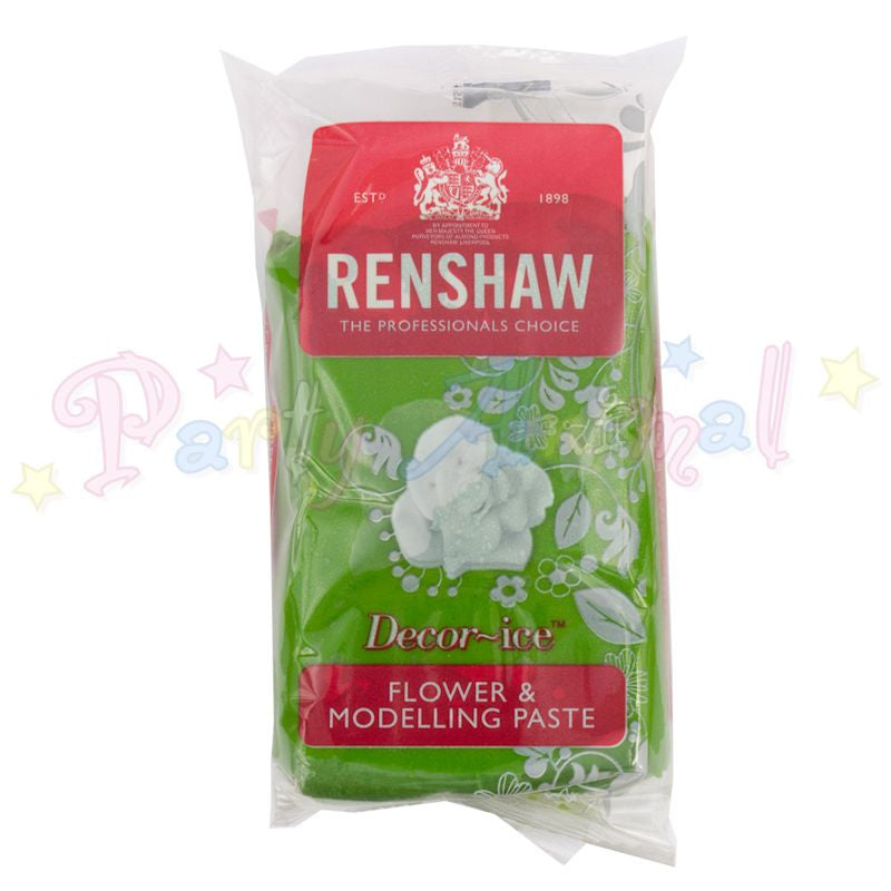 Renshaw Flower & Modelling Paste - Grass Green 250g