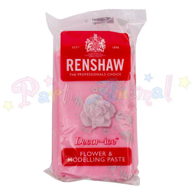 Renshaw Flower & Modelling Paste - Rose Pink 250g