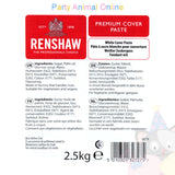 Renshaws Premium Covering Paste - White - 2.5Kg
