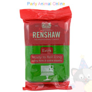 Renshaw green extra, ready to roll icing, 250grm, image,partyanimalonline
