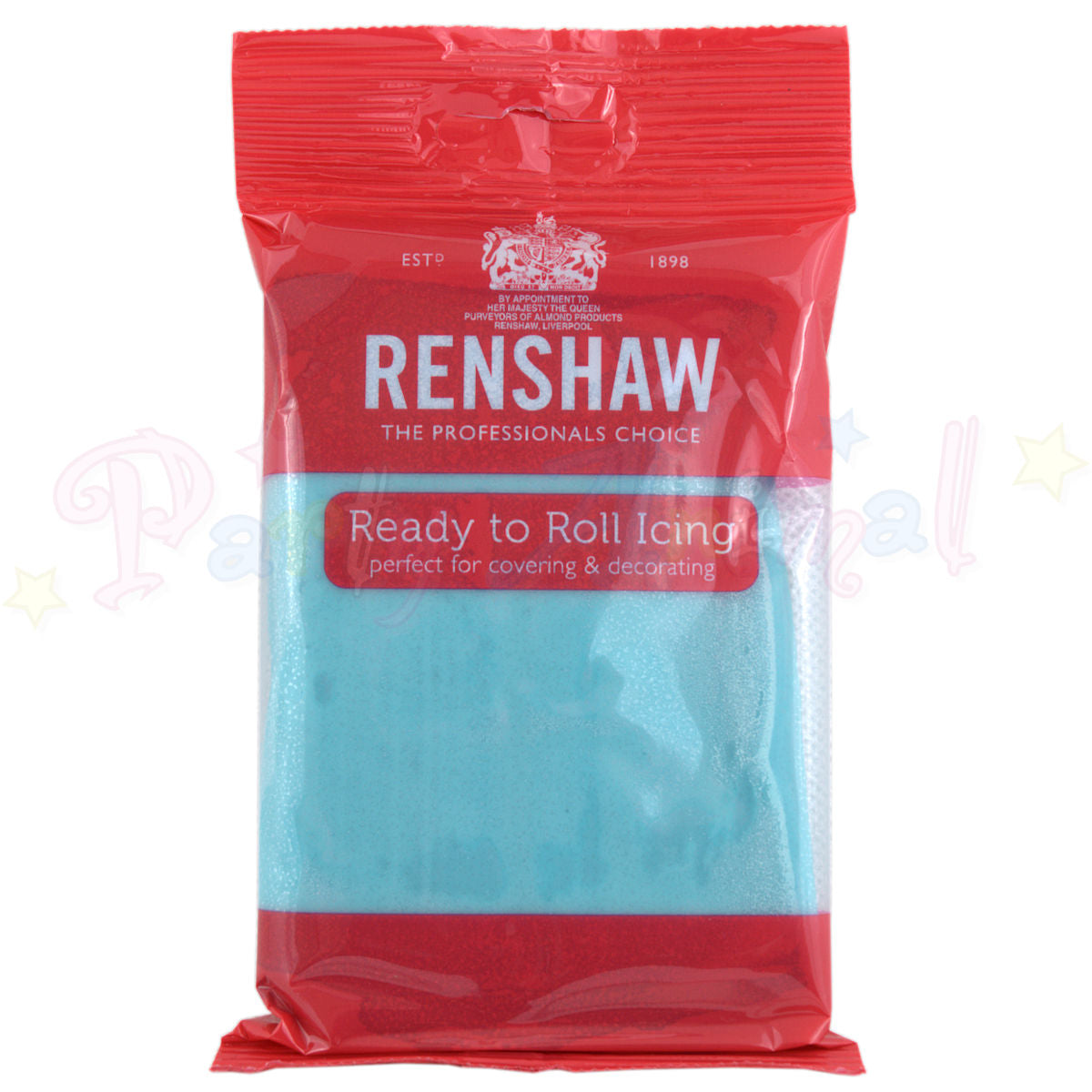 Renshaws Decor-Ice Ready-to-Roll Sugarpaste Icing (Regalice) - Baby Blue