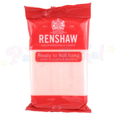 Renshaws Decor-Ice Ready-to-Roll Sugarpaste Icing (Regalice) - Baby Pink