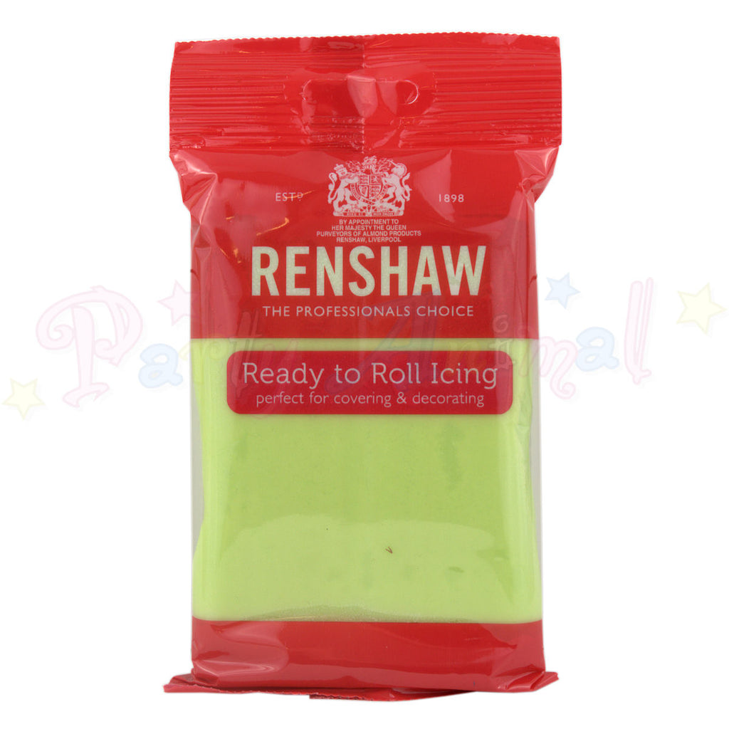 Renshaws Decor-Ice Ready-to-Roll Sugarpaste Icing (Regalice) - Pastel Green