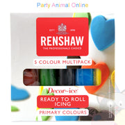 Renshaws Decor-Ice Ready-to-Roll Icing - Multipack - Primary