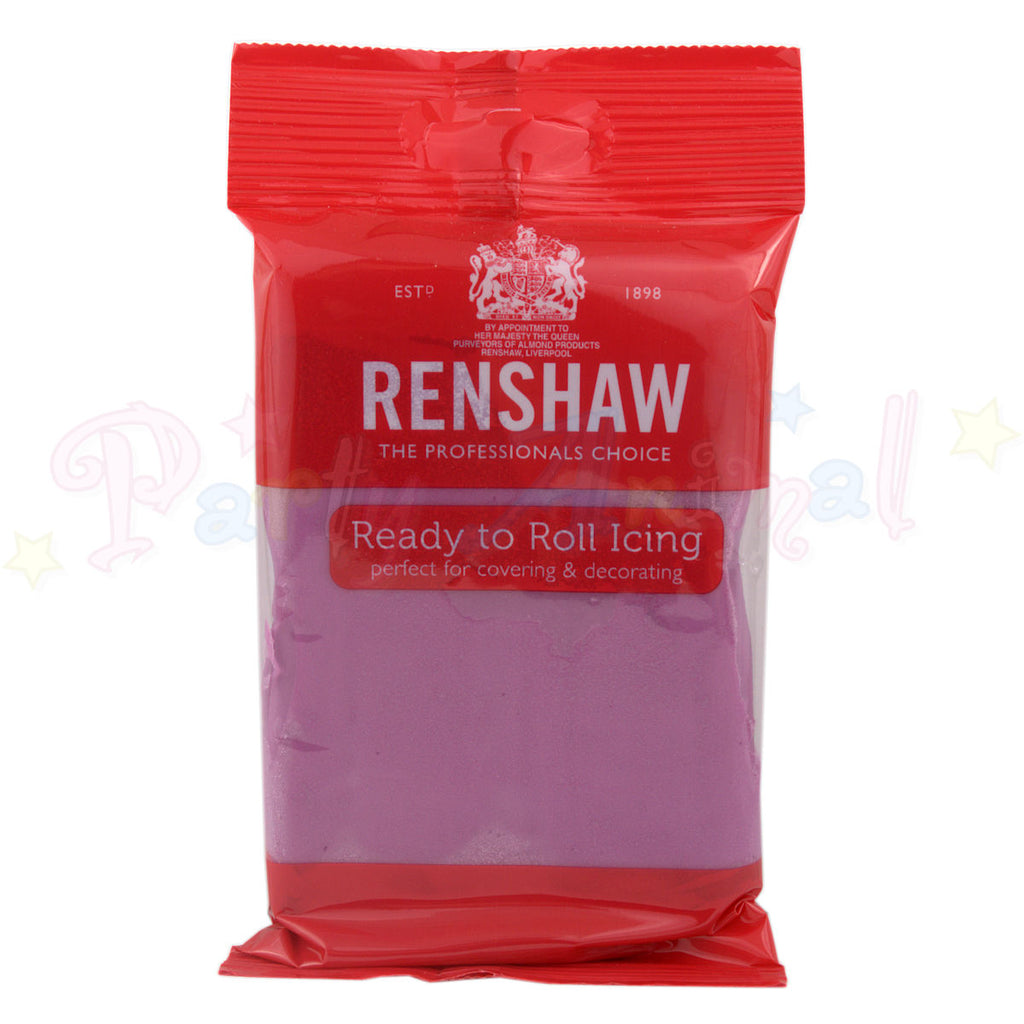 Renshaws Decor-Ice Ready-to-Roll Sugarpaste Icing (Regalice) - Dusky Lavender