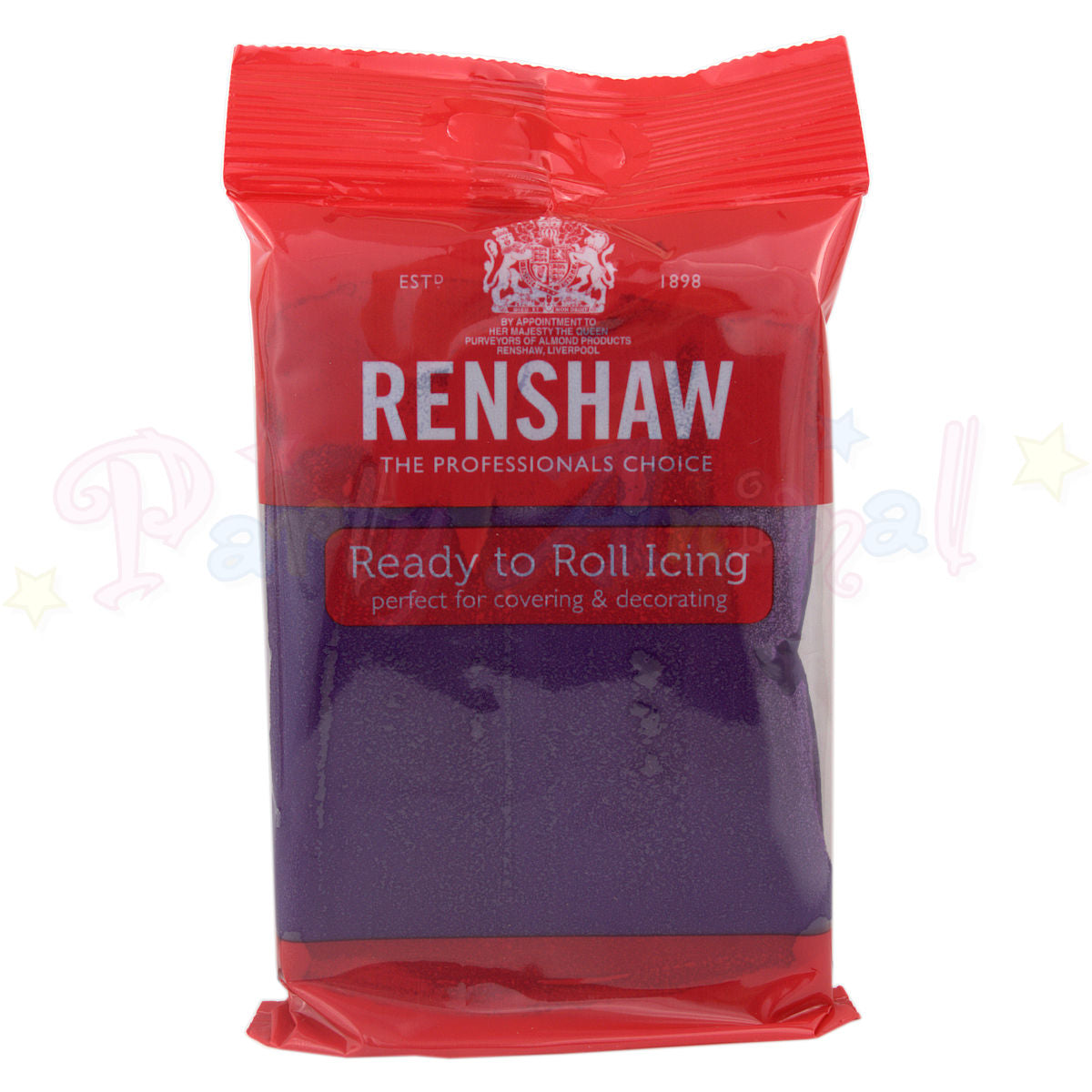 Renshaws Decor-Ice Ready-to-Roll Sugarpaste Icing (Regalice) - Deep Purple