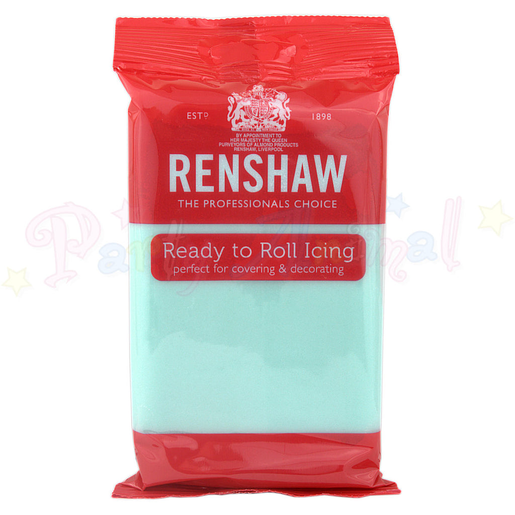 Renshaws Decor-Ice Ready-to-Roll Sugarpaste Icing (Regalice) - Duck Egg Blue