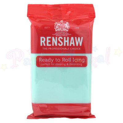 Renshaw, ready to roll sugarpaste, Duck Egg Blue, 250g, image,