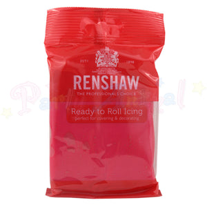 Renshaws Decor-Ice Ready-to-Roll Sugarpaste Icing (Regalice) - Fuchsia Pink
