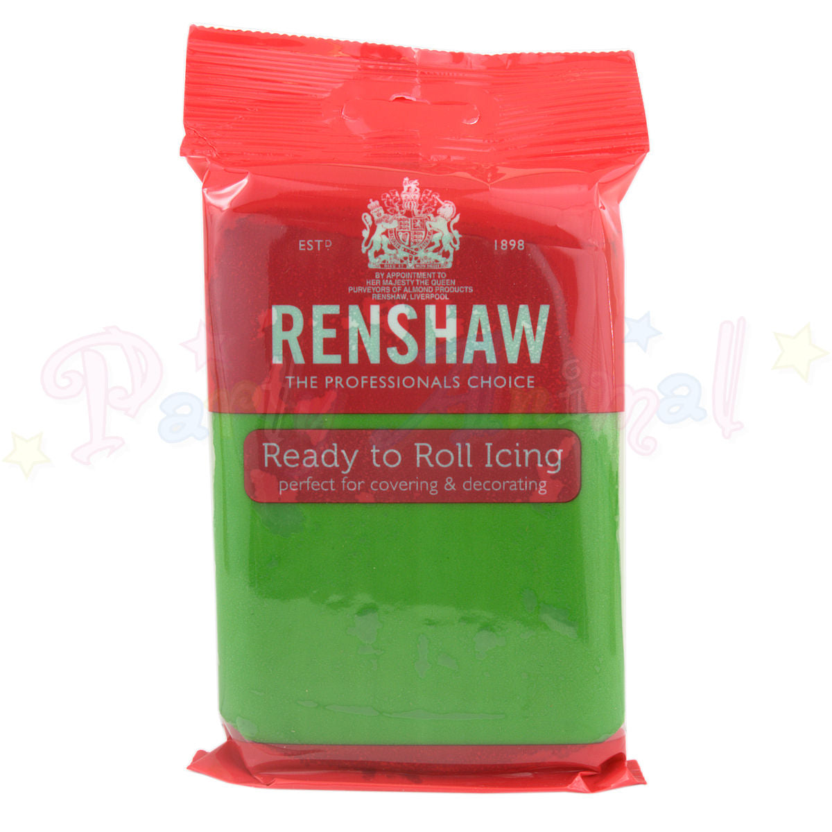 Renshaws Decor-Ice Ready-to-Roll Sugarpaste Icing (Regalice) - Lincoln Green