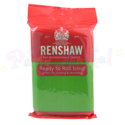 Renshaw, 250g, Lincoln Green, sugarpaste, ready to roll, image,