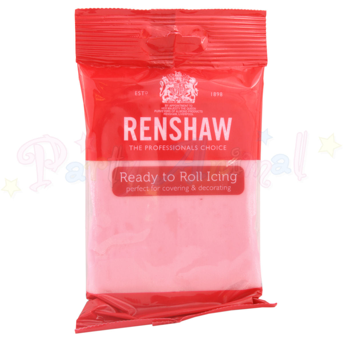 Renshaws Decor-Ice Ready-to-Roll Sugarpaste Icing (Regalice) - Professional Pink