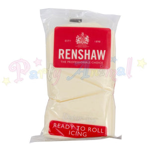 Renshaws Decor-Ice Ready-to-Roll Sugarpaste Icing (Regalice) - Celebration Cream - 500g