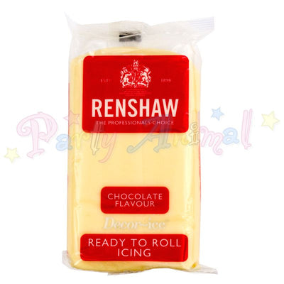 Renshaws Decor-Ice Ready-to-Roll Sugarpaste Icing (Regalice) - White Chocolate Flavour
