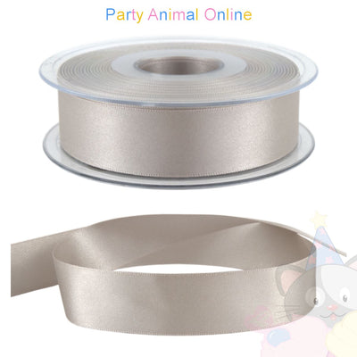 Ribbon 25mm Wide Colour 18 (Silver Grey)
