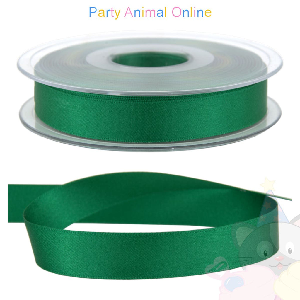 Ribbon 15mm Wide - Colour 24 (Bottle Green)