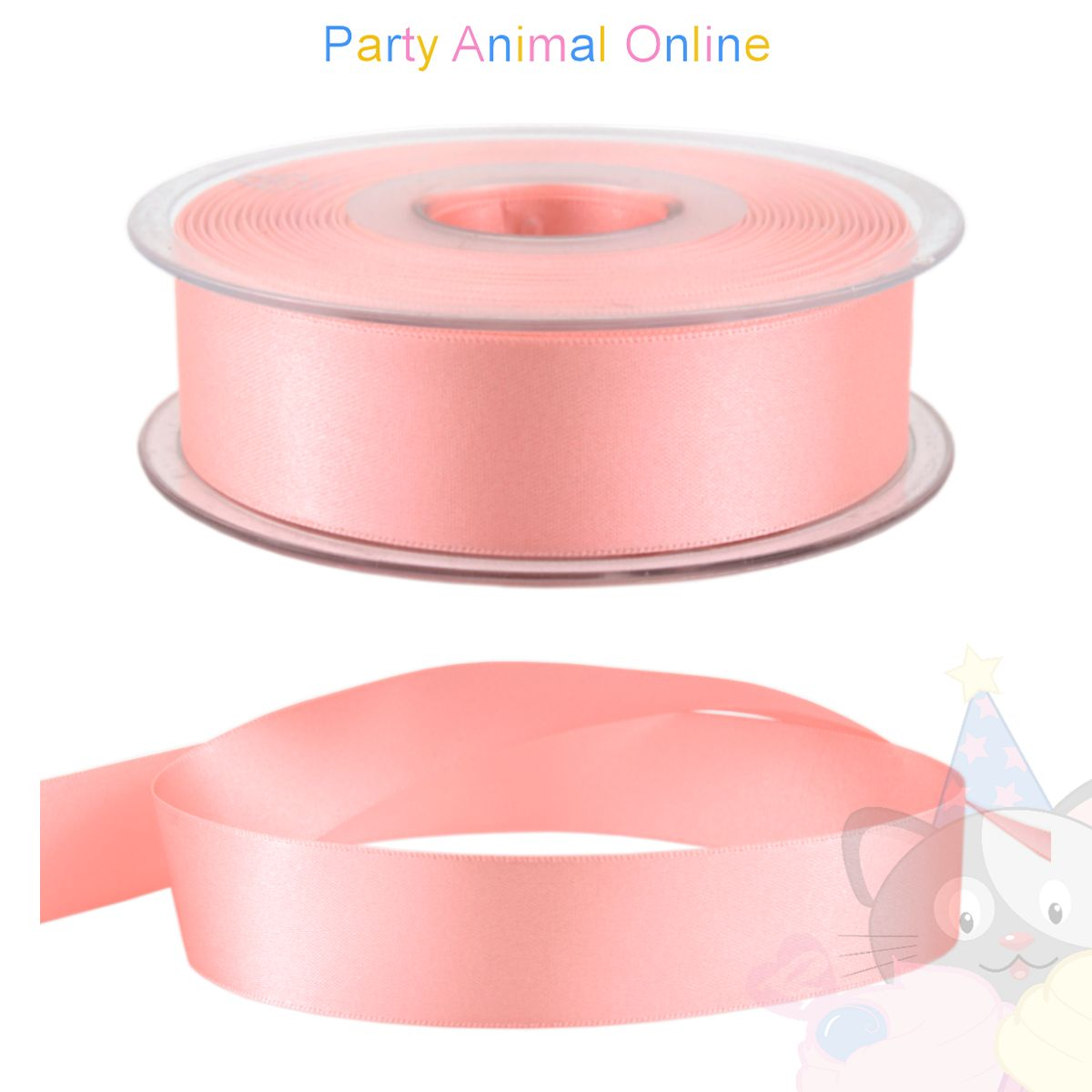 Ribbon 25mm Wide - Colour 2 (Pink)