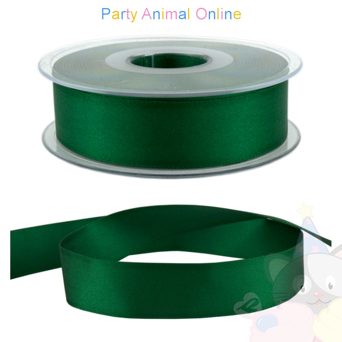 Ribbon 25mm Thickness Colour 455 (Hunter Green)