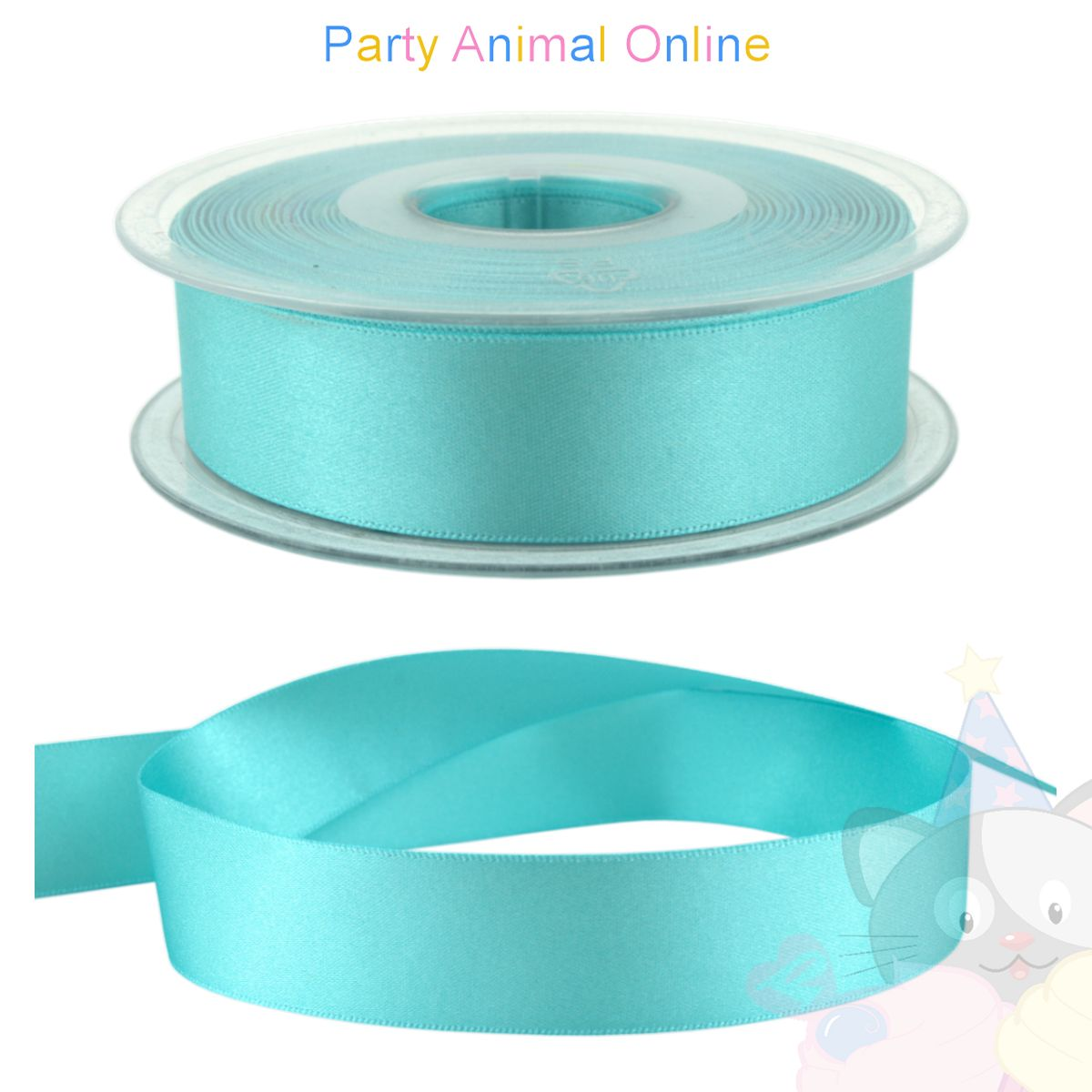 Ribbon 25mm Wide - Colour 48 (Turquoise)