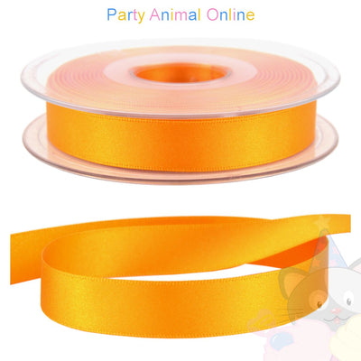 Ribbon 15mm Wide - Colour 672 (Marigold Orange)