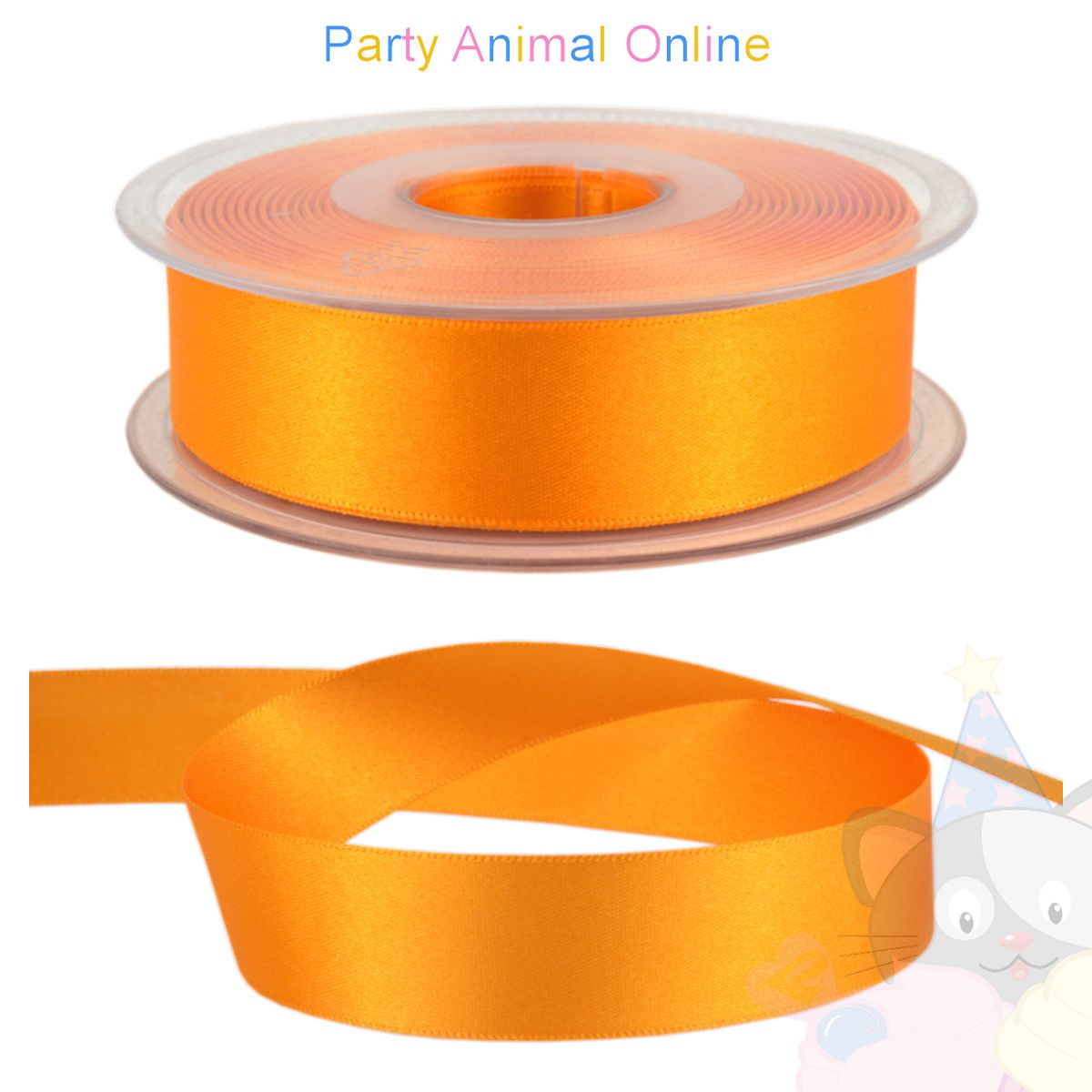 Ribbon 25mm Wide - Colour 672 (Marigold)