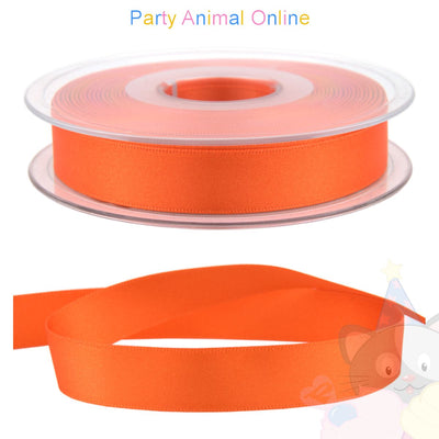 Ribbon 15mm Wide - Colour 677 (Flame Orange)