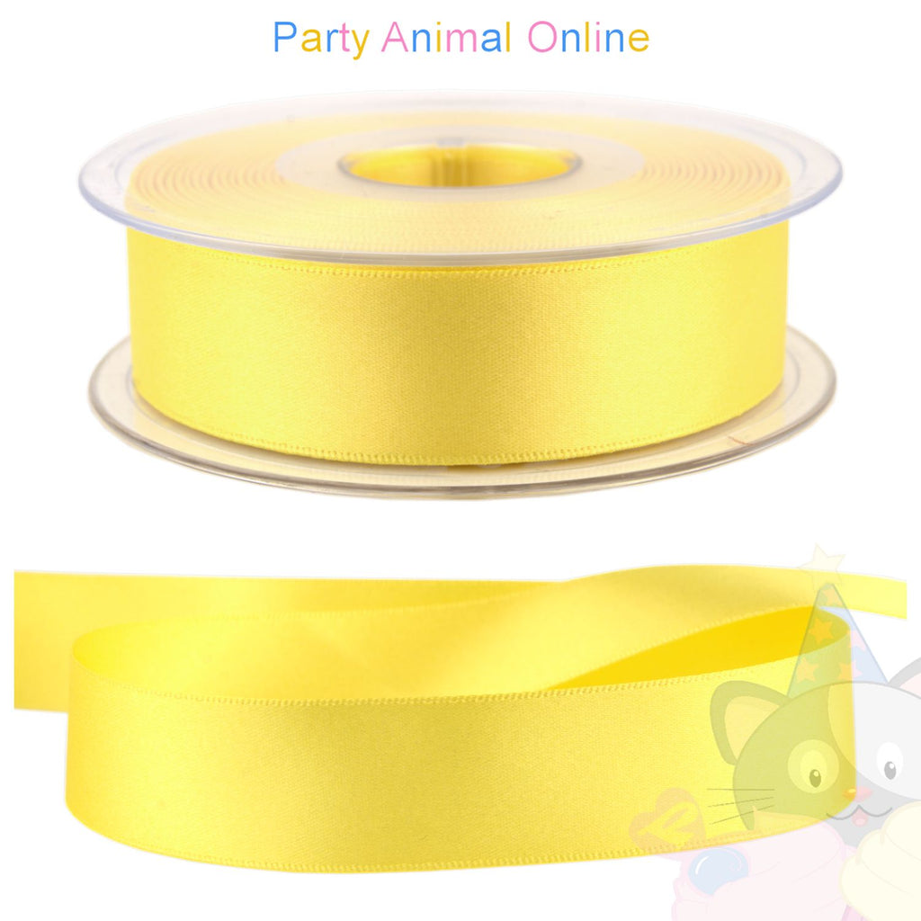 Ribbon 25mm Wide - Colour 679 (Yellow)