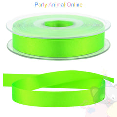 Ribbon 15mm Wide - Colour 6847 (Florescent Green)