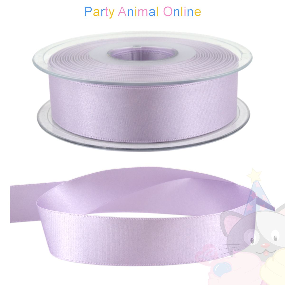 Ribbon 25mm Wide - Colour 910 (Orchid Lilac)
