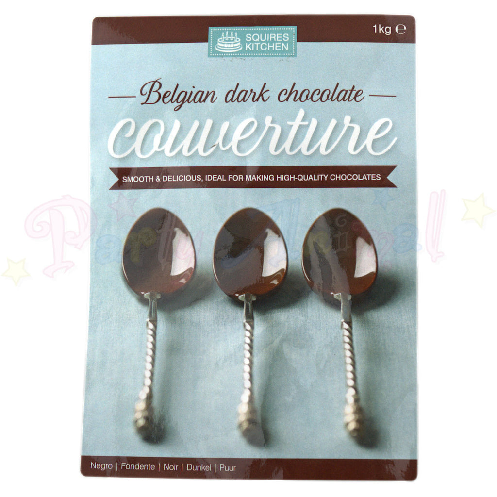 Couverture - Belgian Dark Chocolate - 1kg Pack